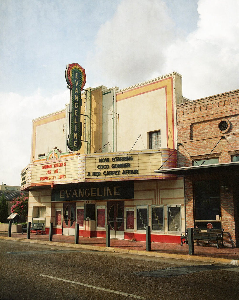 Evangeline Theater, Louisiana Photography Lost Kat Photography