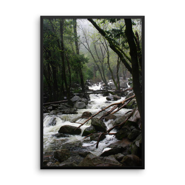 Foggy Mountain Forest - Framed Photo Print 12×16 Lost Kat Photography