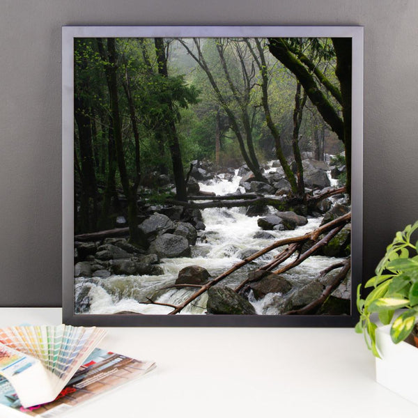 Foggy Mountain Forest - Framed Photo Print Lost Kat Photography