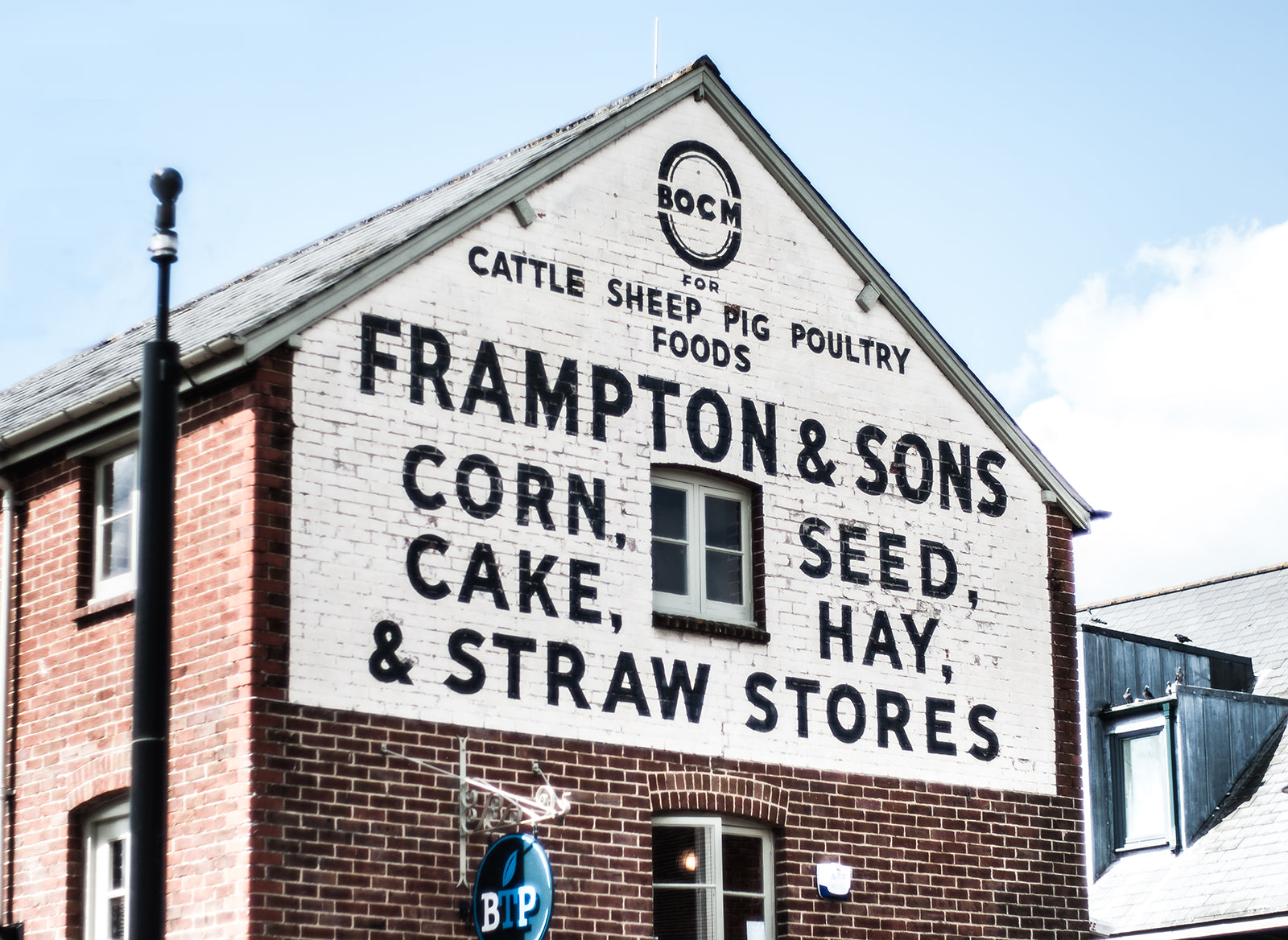 Frampton and Sons Feed Store Rustic Wall Art Print