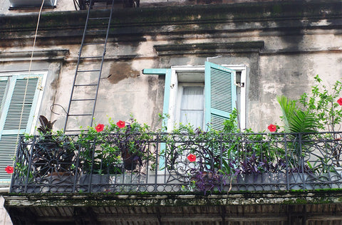 French Quarter Balcony, New Orleans Fine Art Print Lost Kat Photography