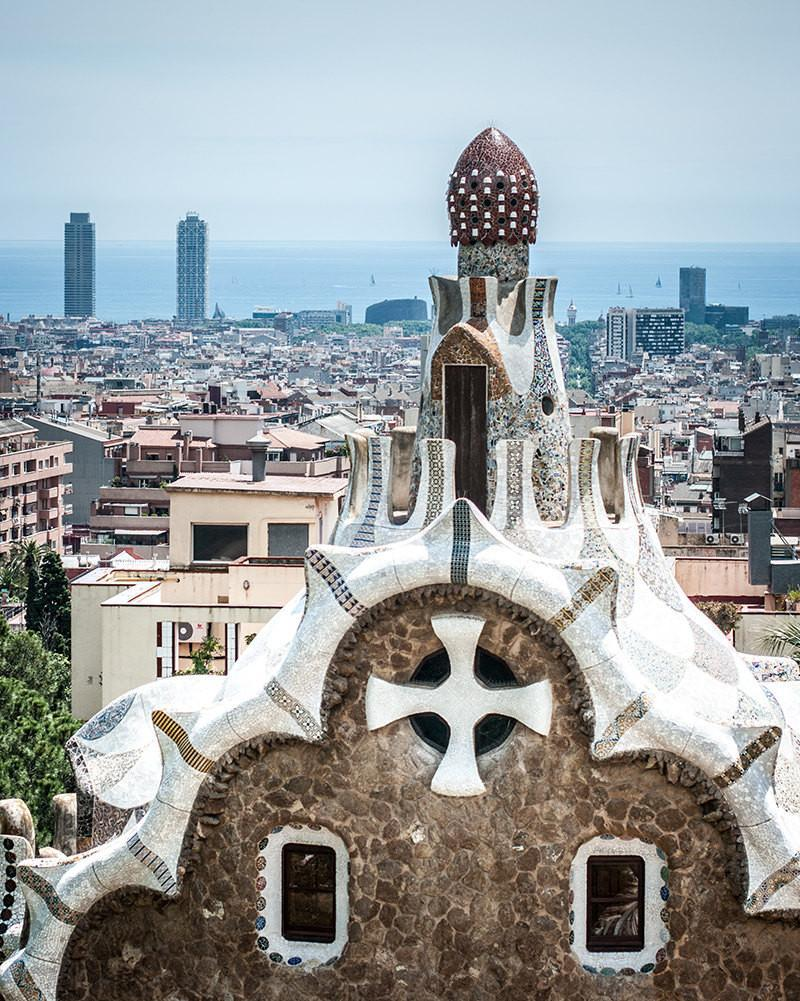 Gaudi Over Barcelona, Spain Photography Lost Kat Photography