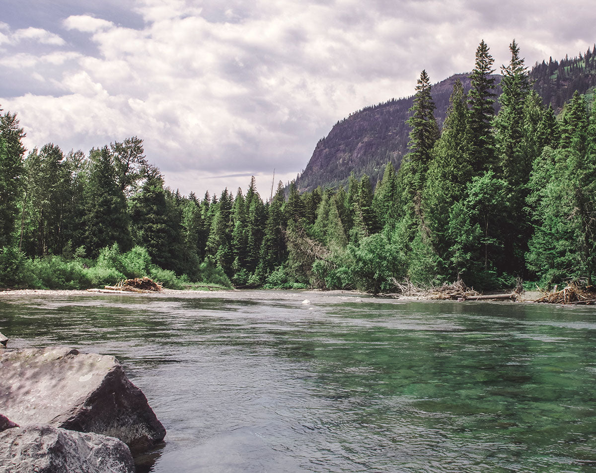 McDonald Creek - Glacier National Park Photo Print