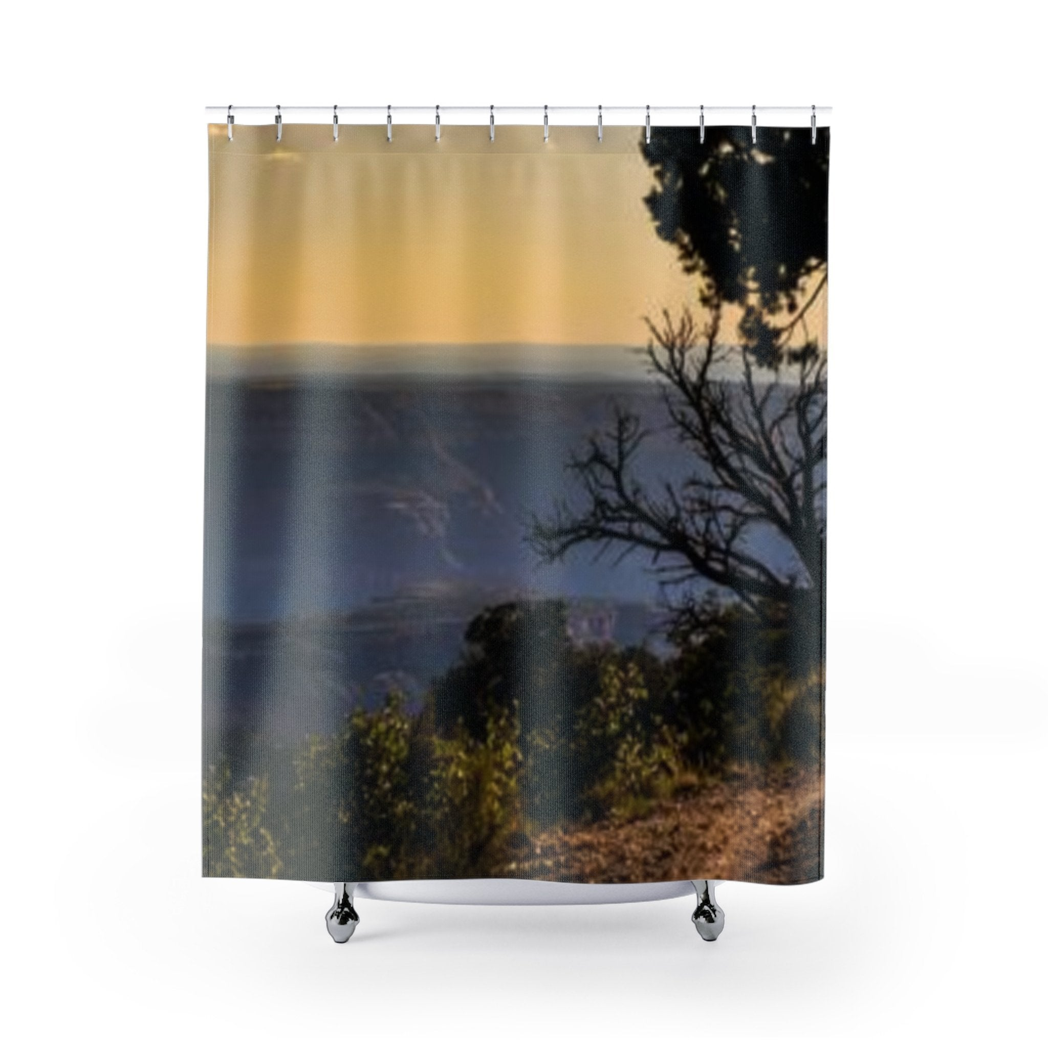 Grand Canyon Rim Shower Curtain Printify