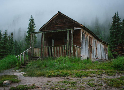 Hermit Cabin, Colorado Rustic Photography - Fine Art Print Lost Kat Photography