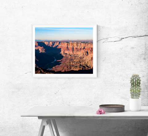 Grand Canyon and Colorado River  Print
