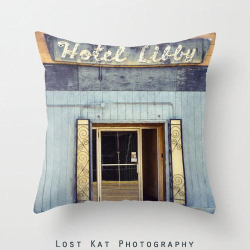 Hotel Libby Throw Pillow Lost In Nature