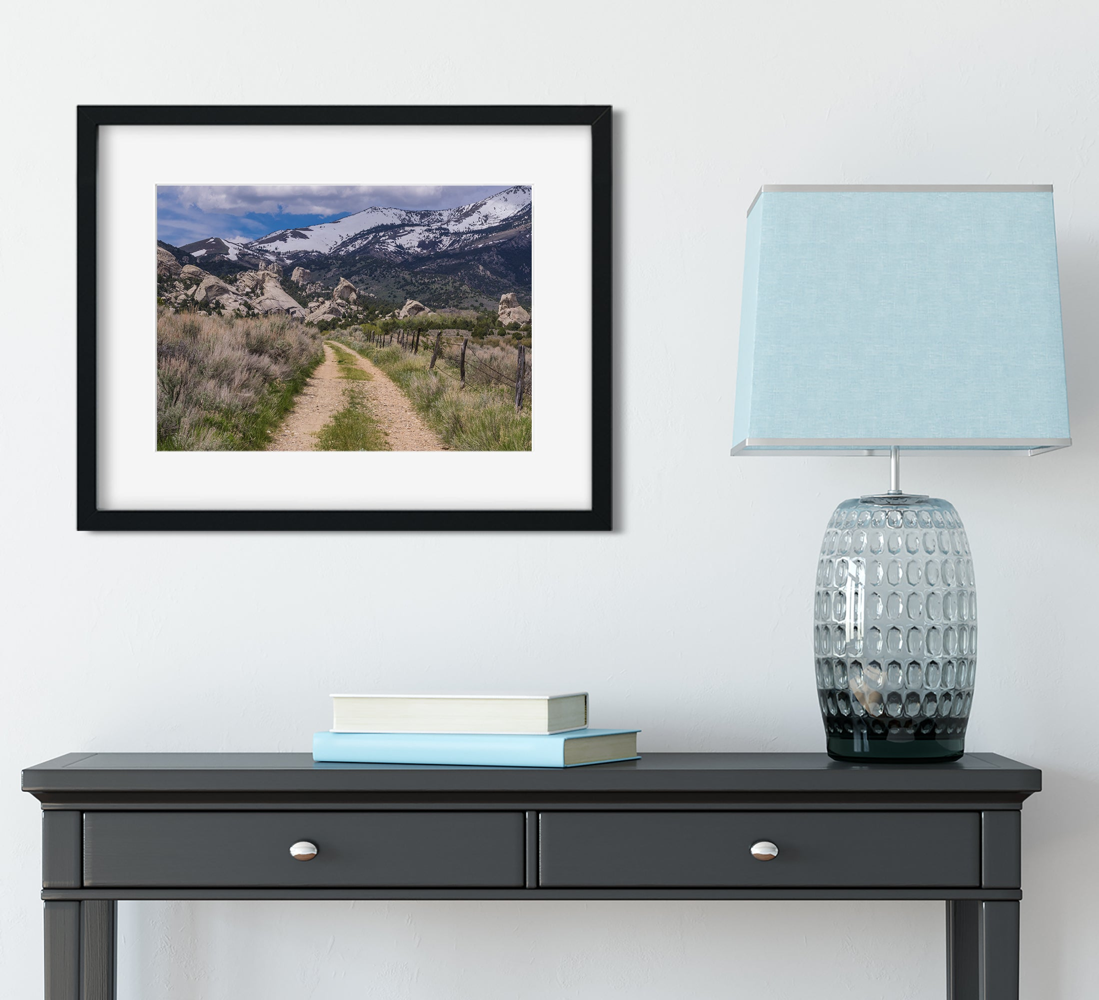 Castle Rocks and the Santa Cruz Mountains Photo Print