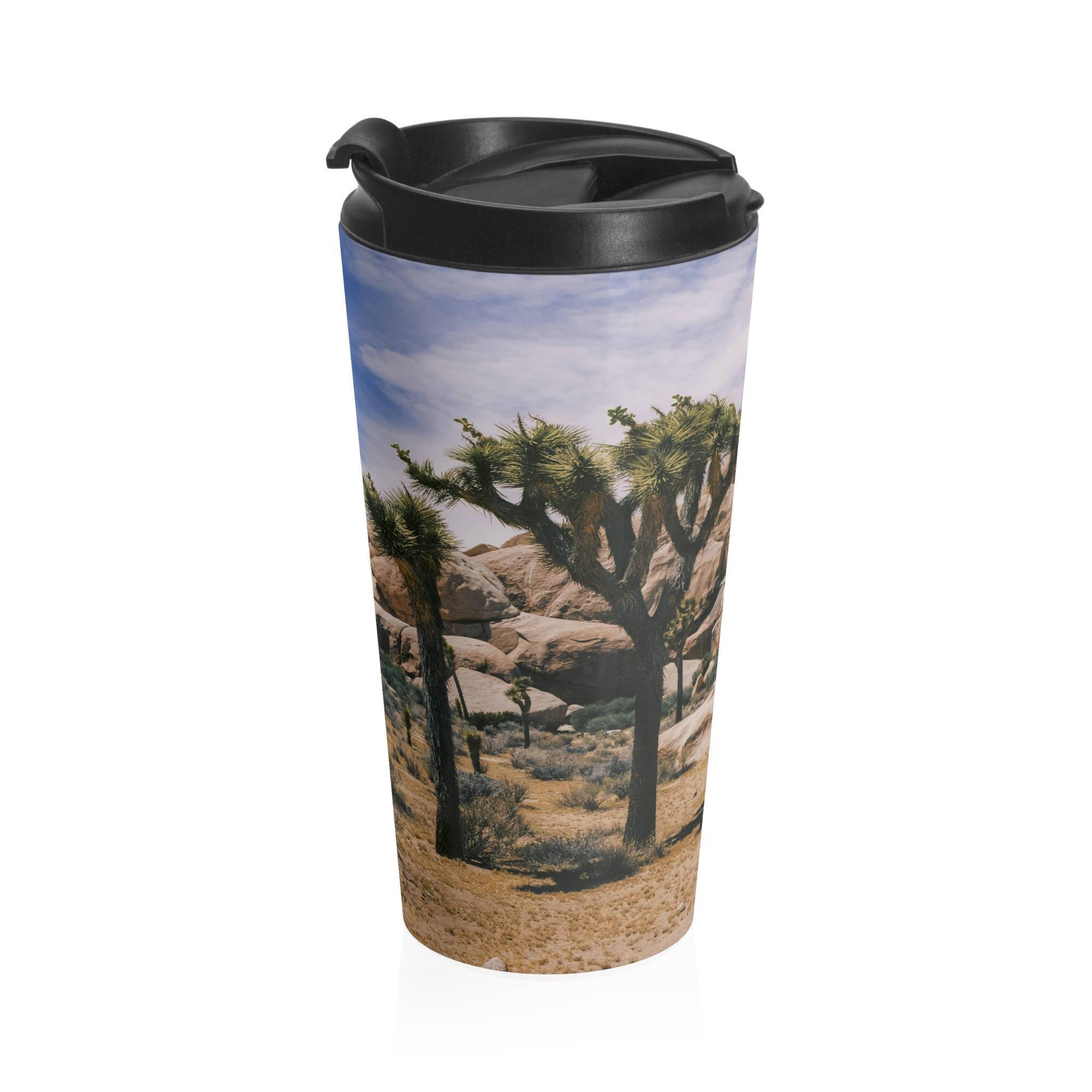 Joshua Tree Stainless Steel Travel Mug Lost in Nature