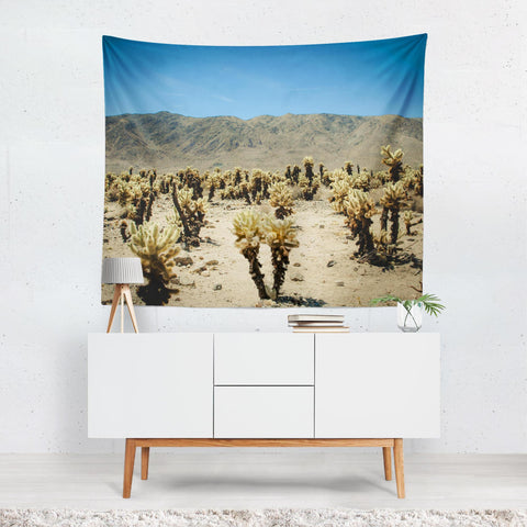 Joshua Tree Wall Tapestry Lost in Nature