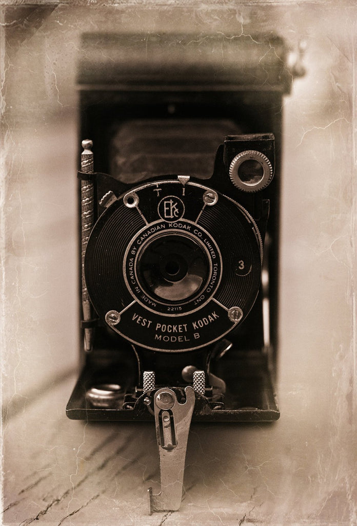 Kodak Vest Pocket Camera, Fine Art Print Lost Kat Photography