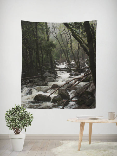 Lost in California, Forest Wall Tapestry Lost In Nature
