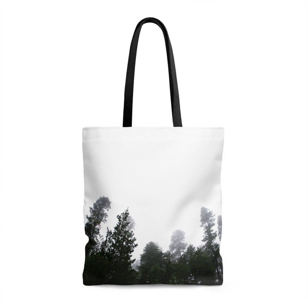 Lost in the Forest Premium Tote Bag 18x18 in Printify