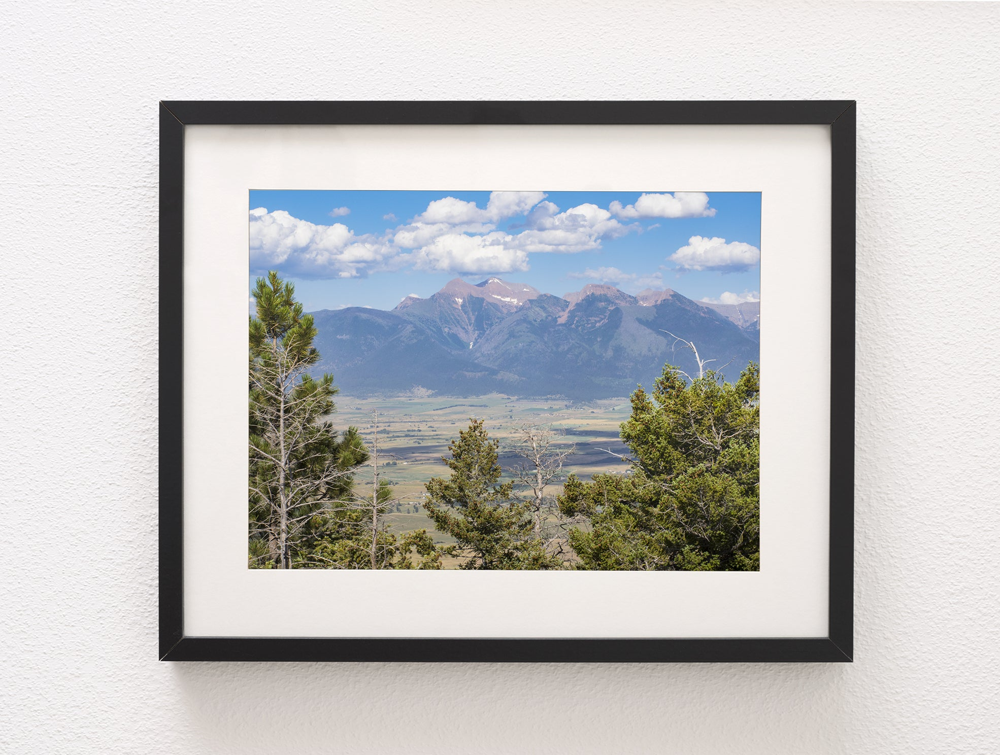 Mission Range of the Rocky Mountains, Montana Wall Art Print