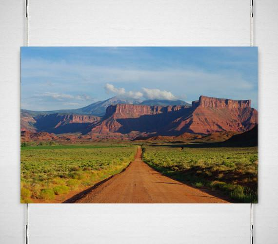 Moab Ranch Road, Four Corners Utah Fine Art Print Lost Kat Photography