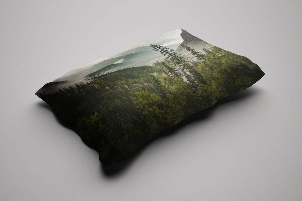 Mountain Valley Pillow Sham Lost in Nature