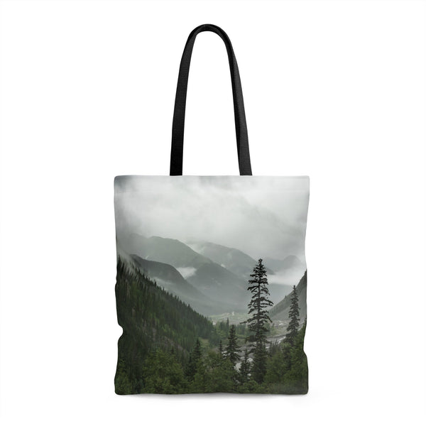 Mountain Valley Premium Tote Bag 18x18 in Printify