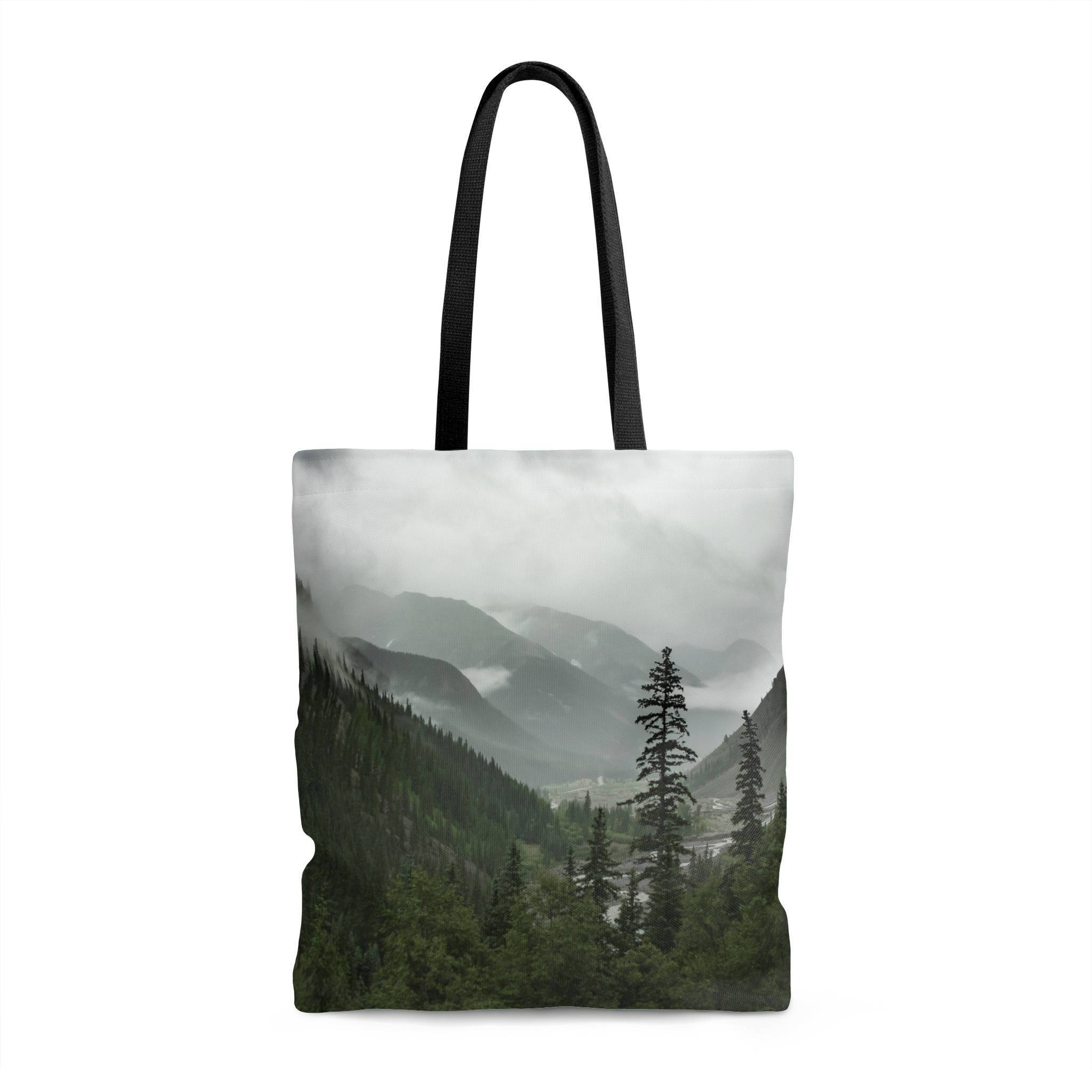 Mountain Valley Shopping Tote with Liner Lost in Nature