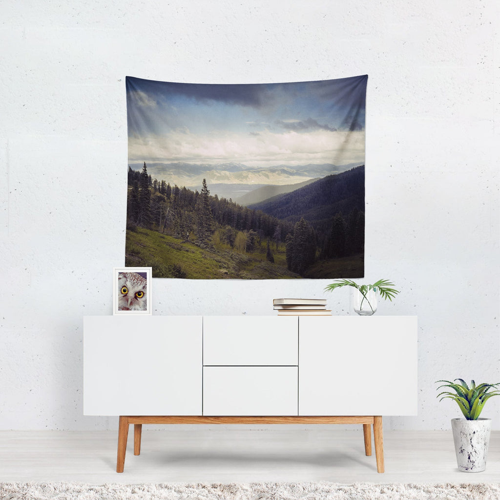 Mountains Forever Scenic Wall Hanging Lost Kat Photography