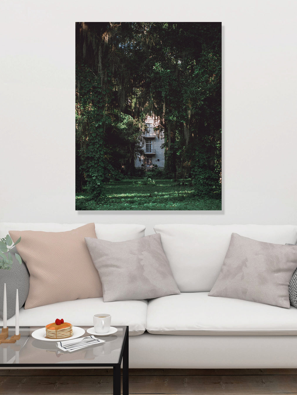 Mystery House, Louisiana Wall Art Print