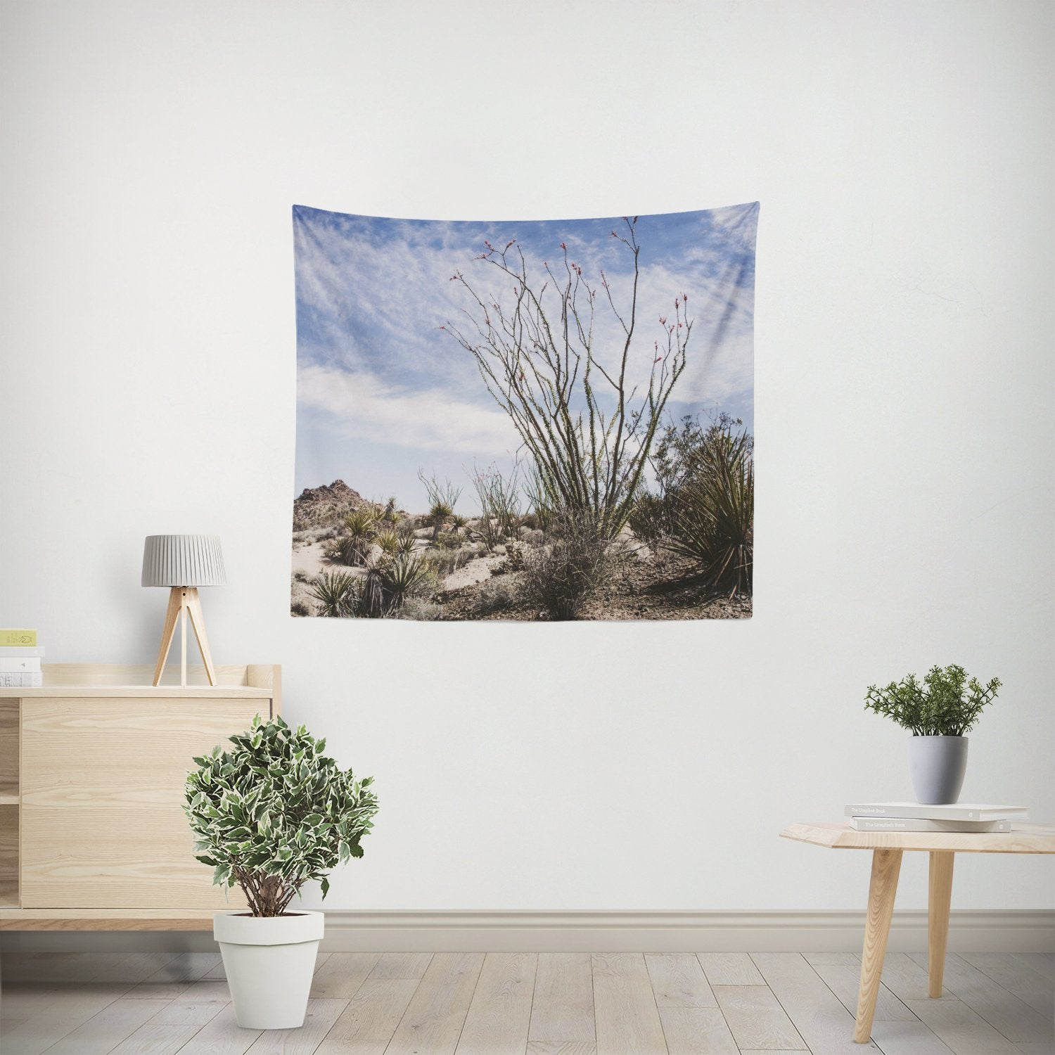 Ocotillo Plant, California Desert Wall Tapestry - 4 Sizes Lost In Nature