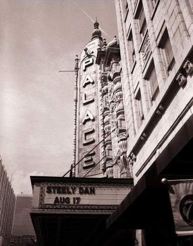 Palace Theater, Louisville Kentucky, Black and White Photography Lost Kat Photography