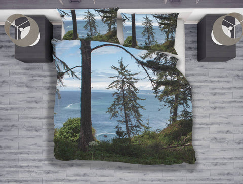 Redwood Forest Duvet Cover Set - Twin, Queen, King Lost in Nature