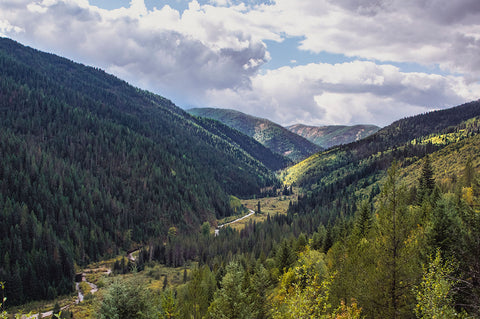 Idaho River Mountain Valley Fine Art Photo