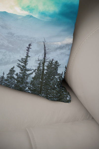 "Rock Candy Mountain 18"" Throw Pillow Lost In Nature"