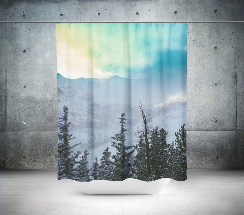 Rock Candy Mountain Shower Curtain – Lost Kat Photography