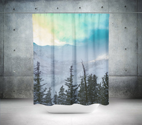 Rock Candy Mountain Shower Curtain Lost In Nature