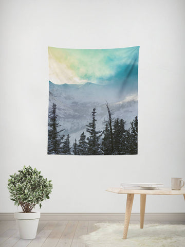 Rock Candy Mountain Wall Tapestry Lost In Nature