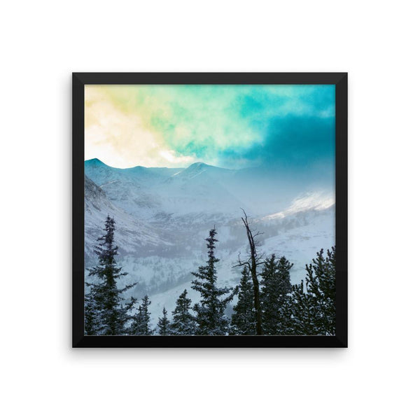 Rock Candy Mountains - Framed Photo Print 10×10 Lost Kat Photography
