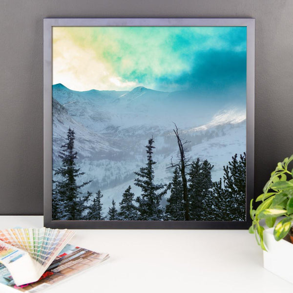 Rock Candy Mountains - Framed Photo Print 12×12 Lost Kat Photography