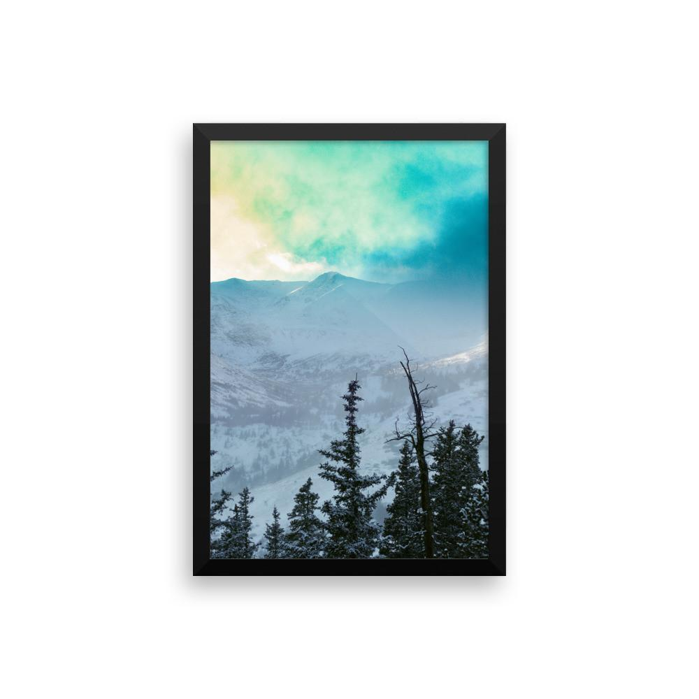 Rock Candy Mountains - Framed Photo Print 12×16 Lost Kat Photography