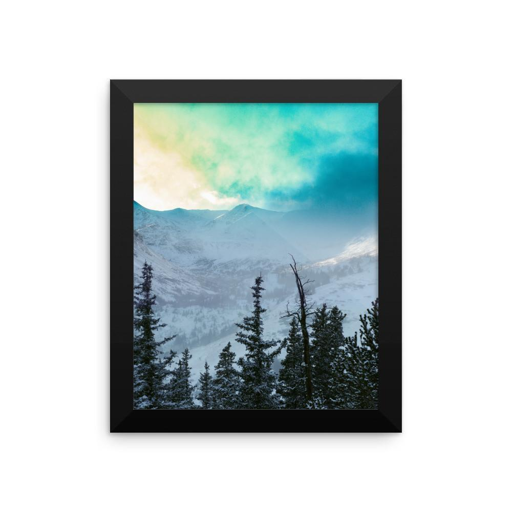 Rock Candy Mountains - Framed Photo Print 8×10 Lost Kat Photography