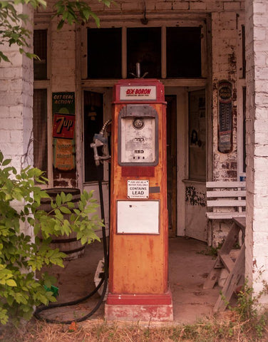 Rustic Gas Pump, Rural Illinois Fine Art Photography Lost Kat Photography