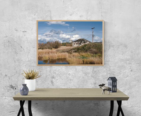 Eastern Washington Farm Photo Print - Many Sizes