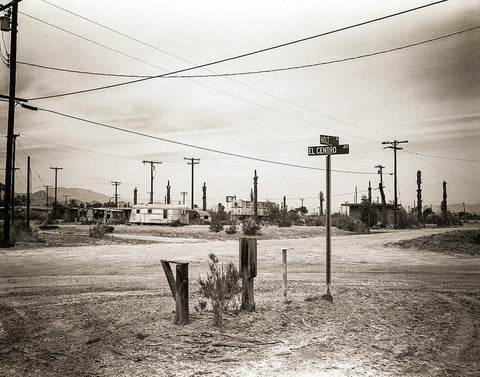 Salton Sea City, California Fine Art Print Lost Kat Photography