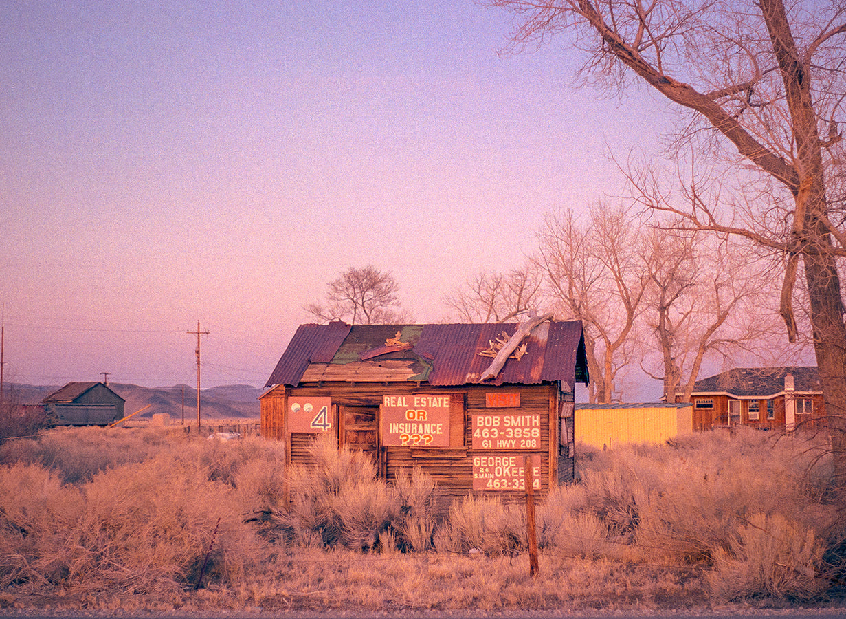 Pop Art Ghost Town Print Set, Arizona Photography, Collection of 3 Prints