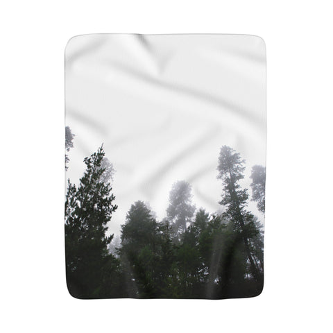 Sherpa Fleece Blanket 50x60 Printify