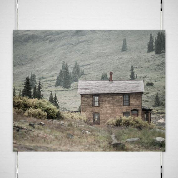 Solace in the Mountains, Colorado Fine Art Print Lost Kat Photography
