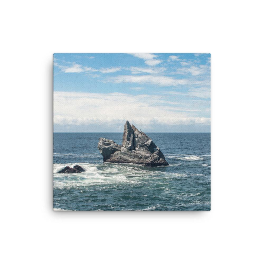 Solitude, California Coast - Canvas Print 12×12 Lost Kat Photography