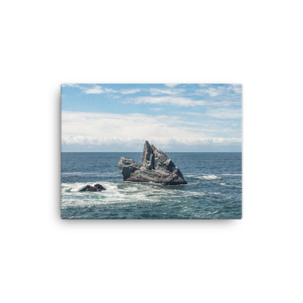 Solitude, California Coast - Canvas Print 12×16 Lost Kat Photography