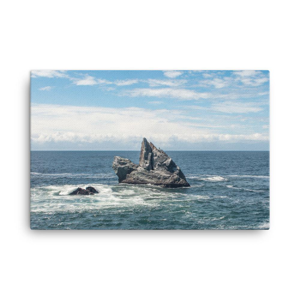Solitude, California Coast - Canvas Print 18×24 Lost Kat Photography