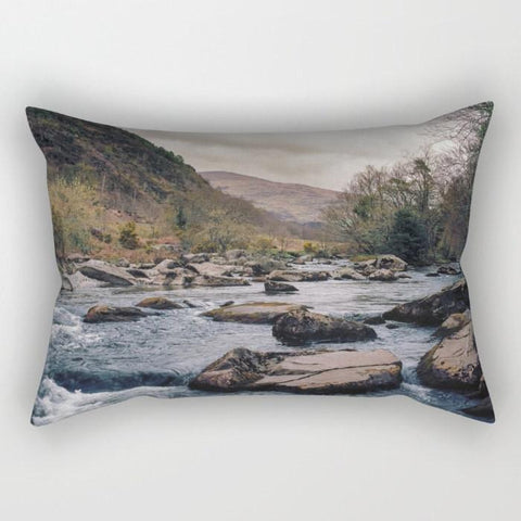 Take Me Away Rectangular Throw Pillow Lost In Nature