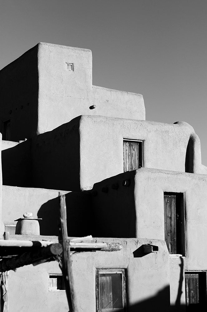 New Mexico Black and White Print Set, Collection of 3 Prints