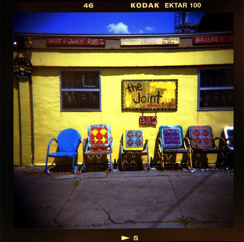The Joint BBQ, Holga Print, New Orleans Lost Kat Photography