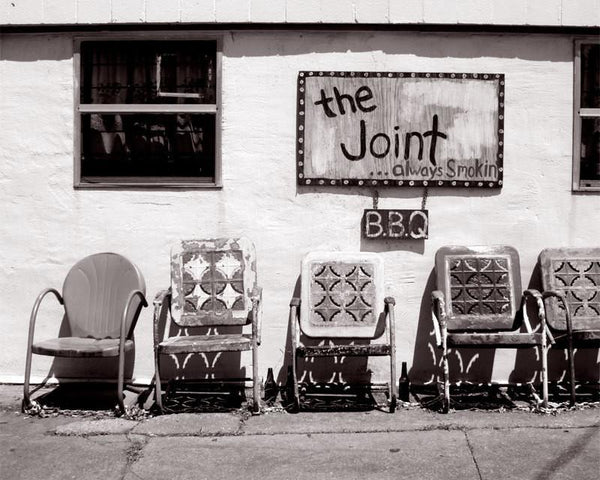 The Joint, Black and White New Orleans Fine Art Print Lost Kat Photography