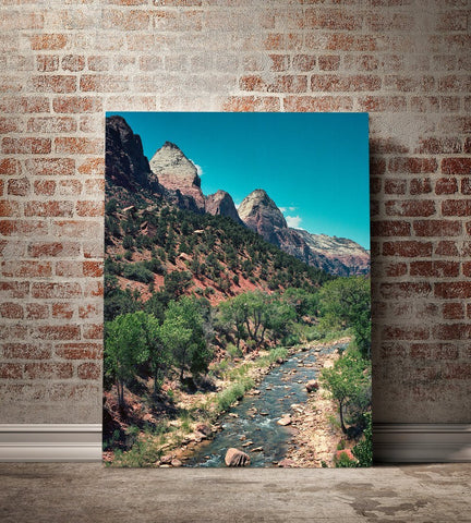 The Virgin River, Zion National Park Fine Art Print Lost Kat Photography